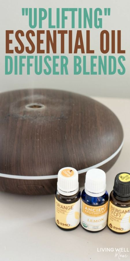 uplifting essential oil diffuser blends