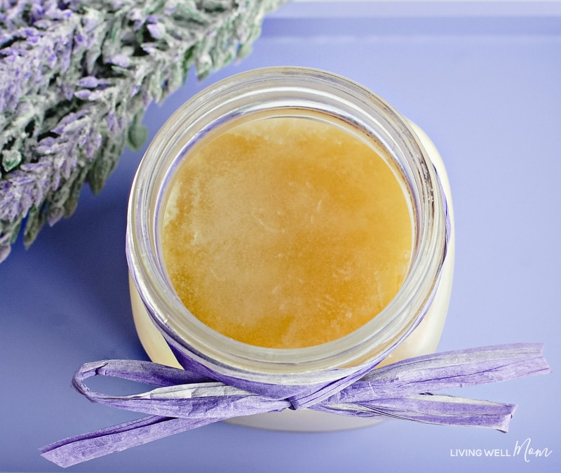 cracked heel cream with essential oils