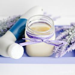 homemade heel cream