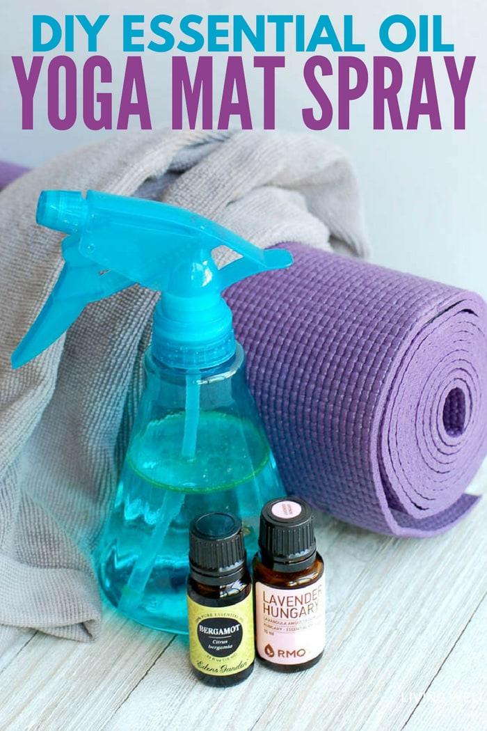 DIY Essential Oil Yoga Mat Spray