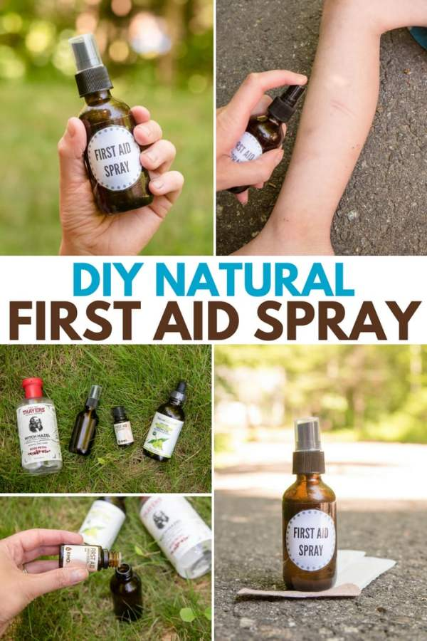 DIY Natural First Aid Spray Recipe