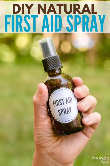 DIY Natural First Aid Spray