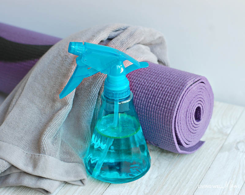 Yoga Mat cleaning spray