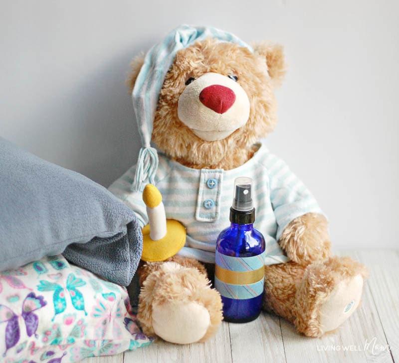 relaxing pillow spray for kids