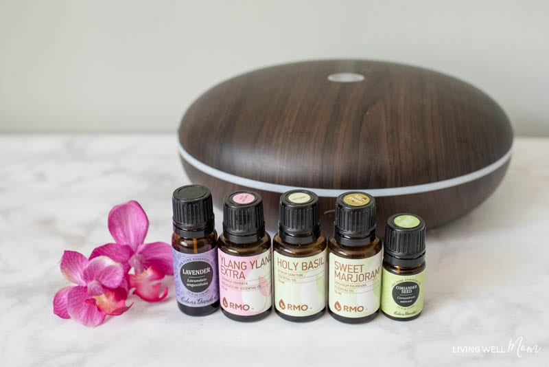 essential oils for patience diffuser blend