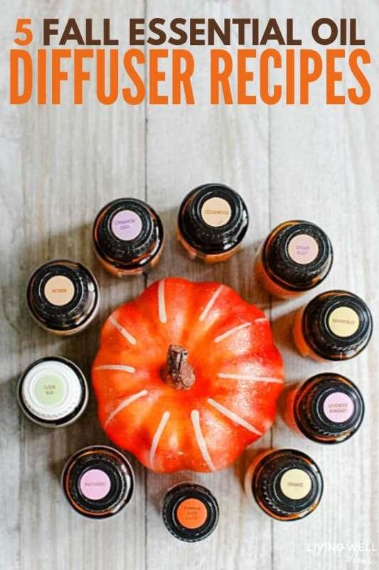 5 Fall Essential Oil Diffuser Recipes