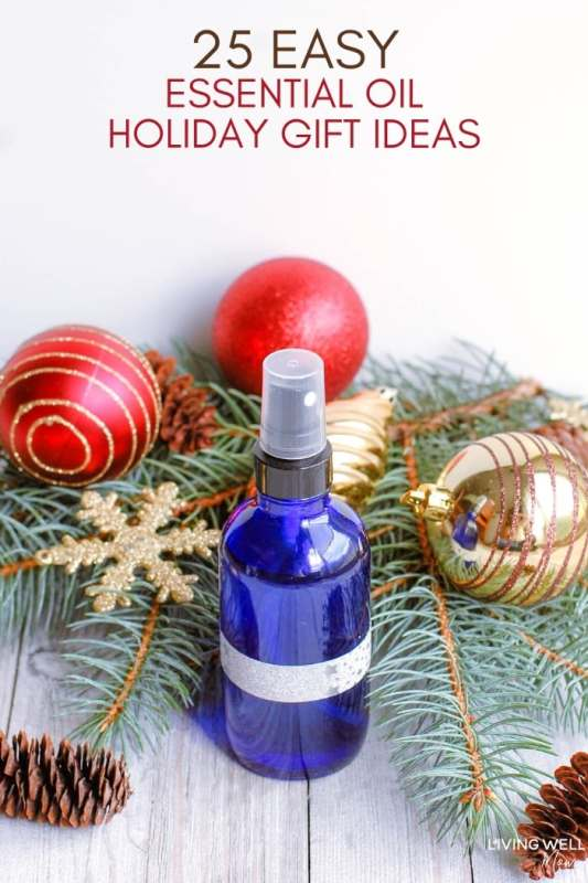 easy essential oil holiday gift ideas list