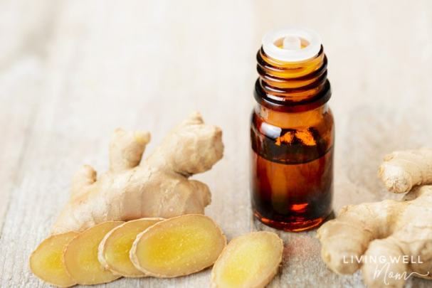 ginger essential oil for seasonal allergy relief