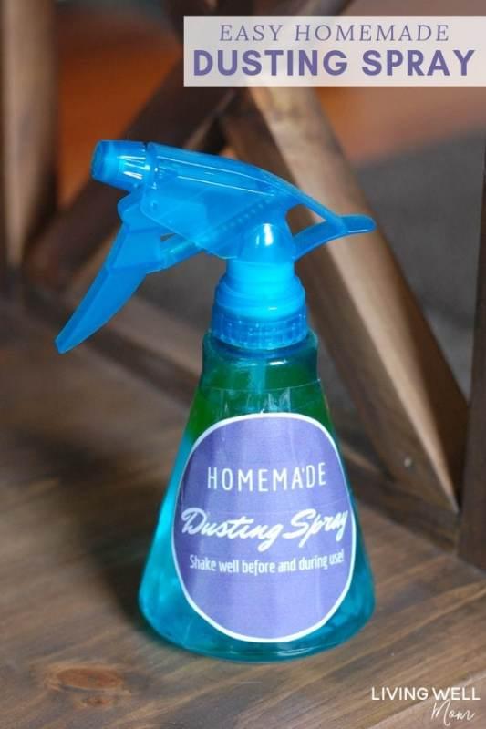 Easy Homemade Dusting Spray