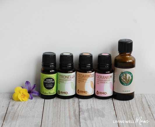 natural bug repellent essential oils