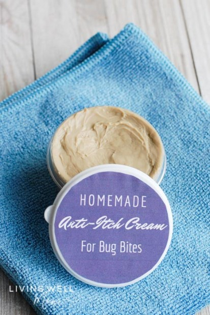 homemade anti-itch cream for bug bites