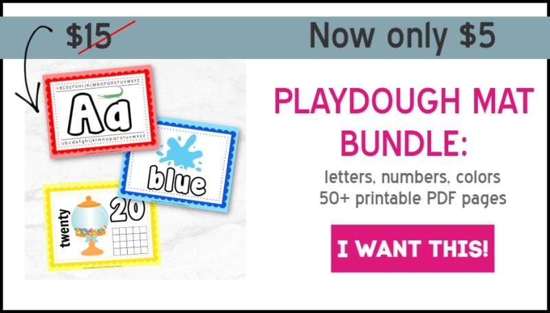 playdough mats sets aug
