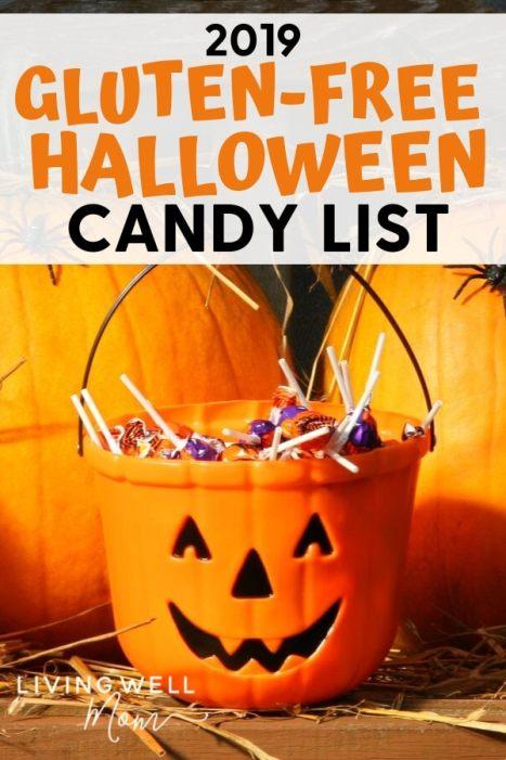 2019 gluten-free Halloween candy list