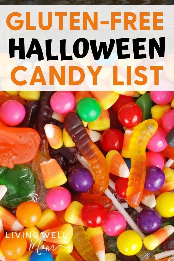 gluten-free Halloween candy list