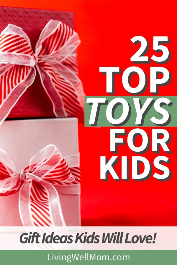 top Christmas toys for kids with red gifts
