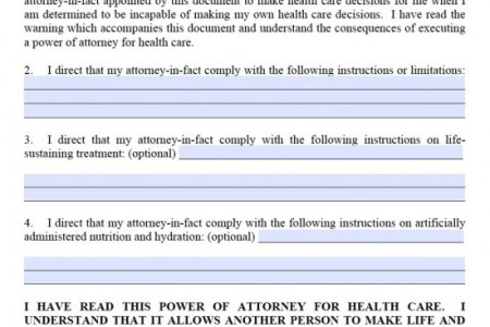 Best Free Fillable Forms Forms For Power Of Attorney Free