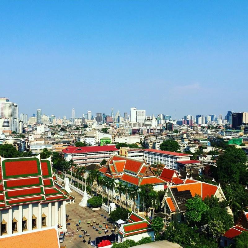 A Sanctuary of Peace Atop a Bangkok Hill