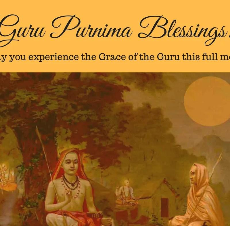 From Darkness to Light – Guru Purnima Blessings
