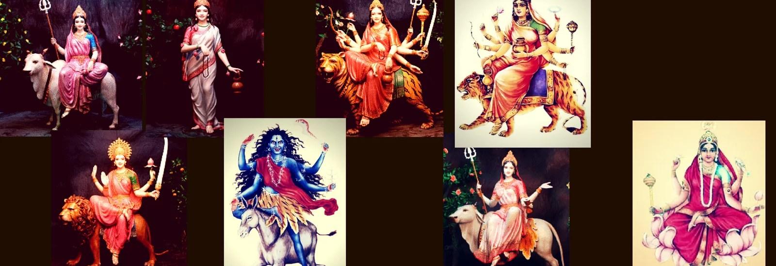 Navdurga: the 9 Forms of Durga