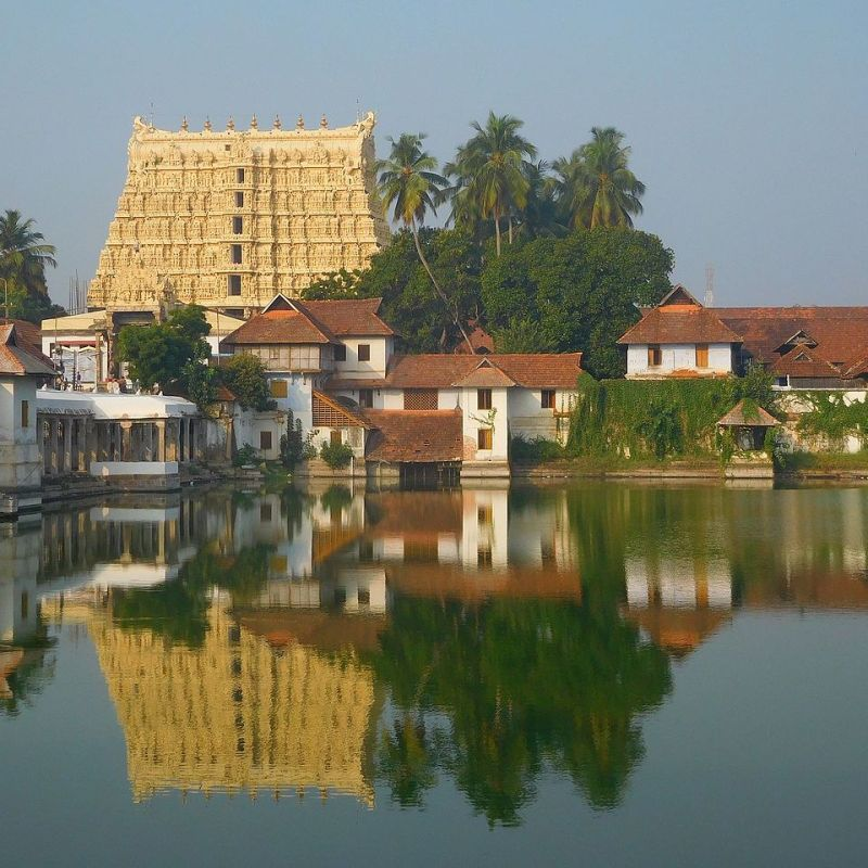 At the Sri Padmanabhaswamy Temple