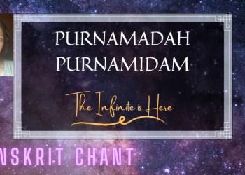 Sanskrit Chant from Isha Upanishad (Purnamadah)