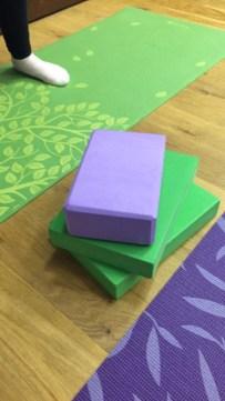 yoga bricks and blocks image