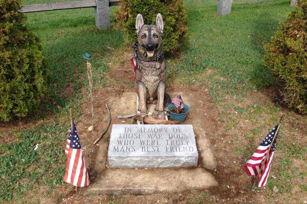 War Dog Memorial in Barrington, NH