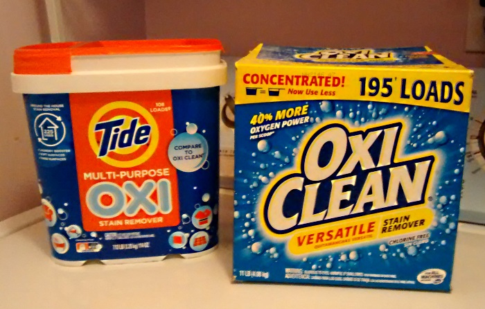 Tide Oxi Vs Oxiclean Laundry Booster Amp Household Cleaner