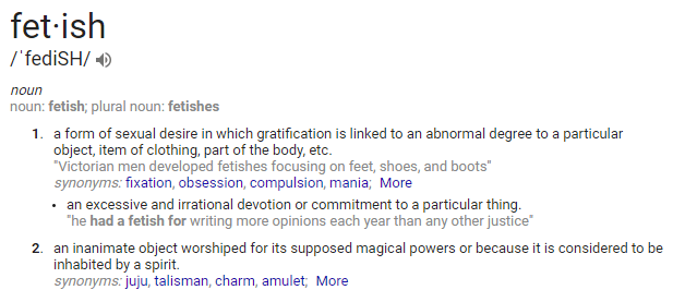 fetish-definition