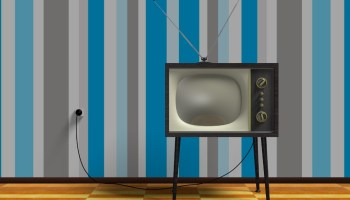 old-fashioned-TV-set