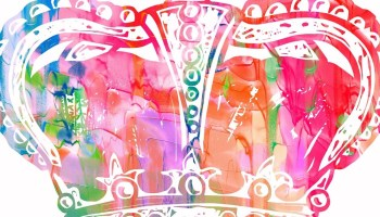 watercolor-colorful-crown
