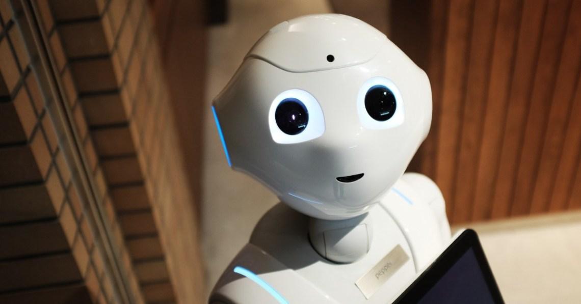 futuristic-robot-looking-at-camera