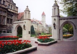 The Gorgeous Sample Gates of Indiana University - Bloomington