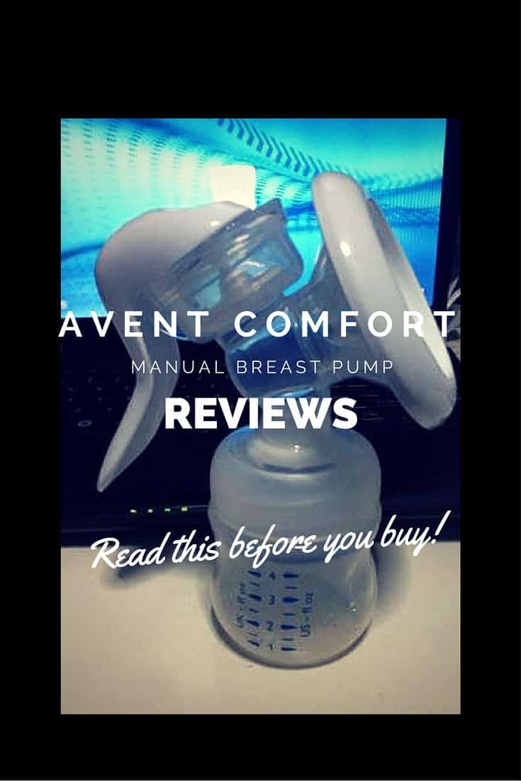 Avent comfort manual breast pump reviews-pin this