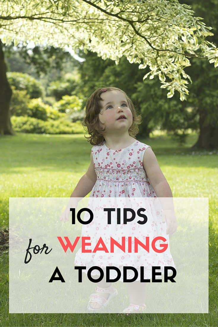 10 tips to wean a toddler from nursing