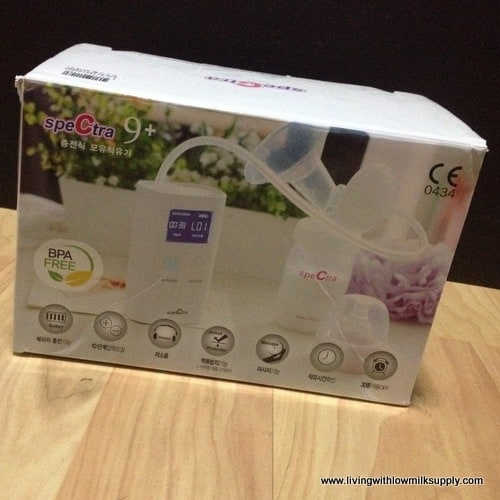 spectra 9 plus breast pump review - fresh from the box