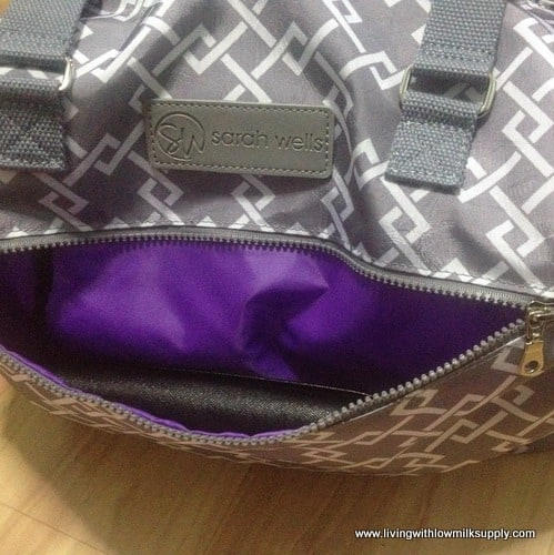 outer-pocket-of-sarah-wells-lizzy-breast-pump-bag