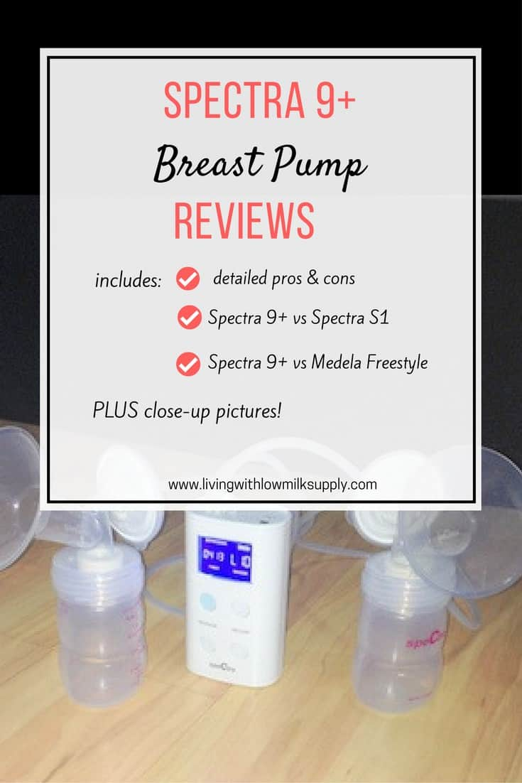Thinking of buying Spectra 9+? In this Spectra 9 plus breast pump review, you will find out all the detailed pros and cons, close up pictures, and comparison with Spectra S1 and Medela Freestyle.
