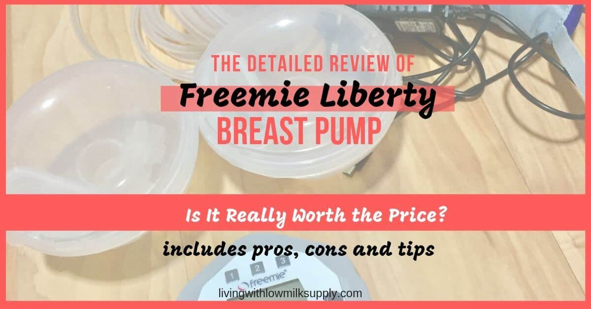 freemie liberty breast pump reviews