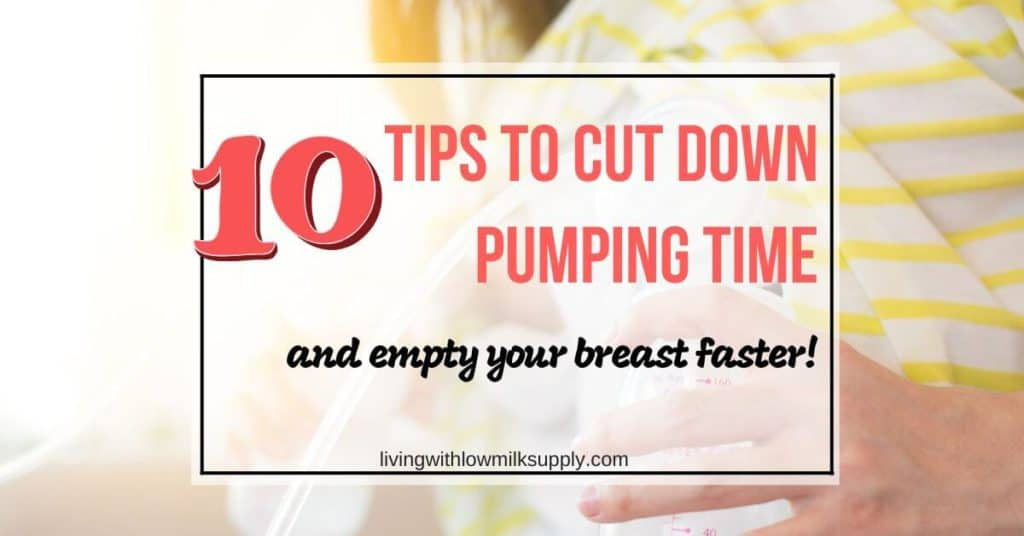 how to pump breast milk faster