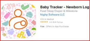 baby tracker newborn log - best breast pumping apps for pumping mom