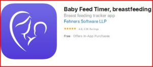 baby feed timer - best breast pumping apps for pumping moms