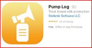 pump logv1.1 - best pumping apps for pumping moms