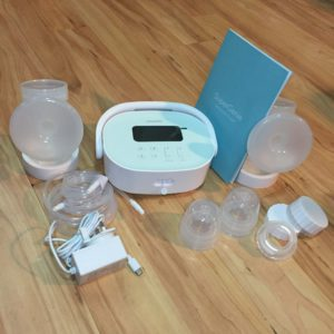 super genie breast pump reviews - what is inside the box