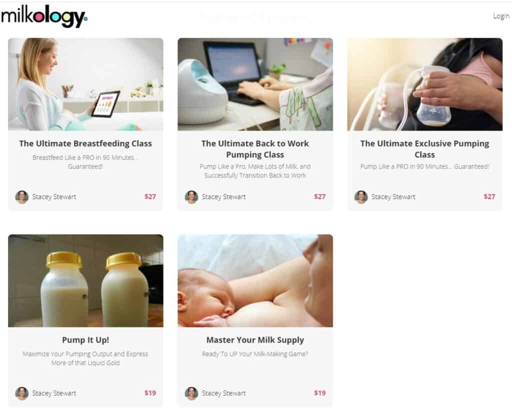 milkology best breastfeeding and pumping class