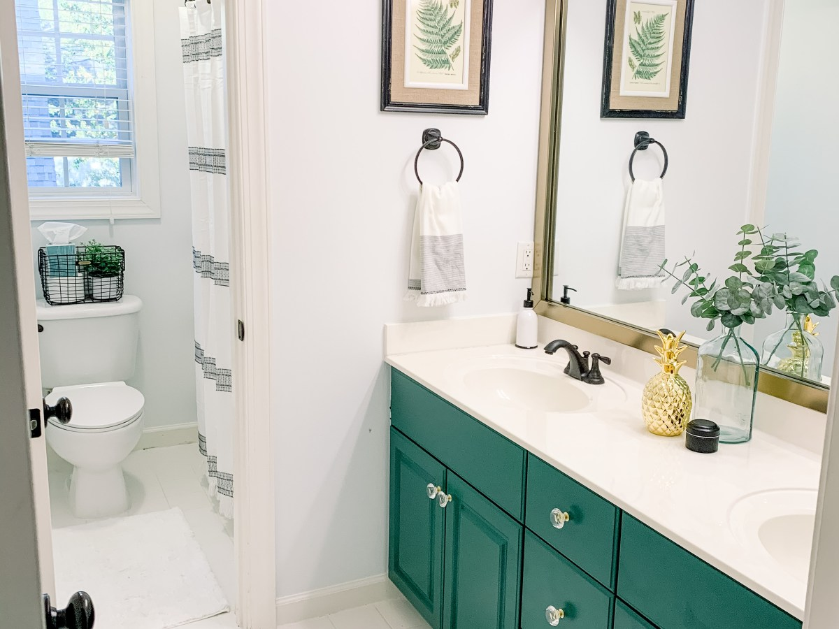 Emerald Green Cabinets