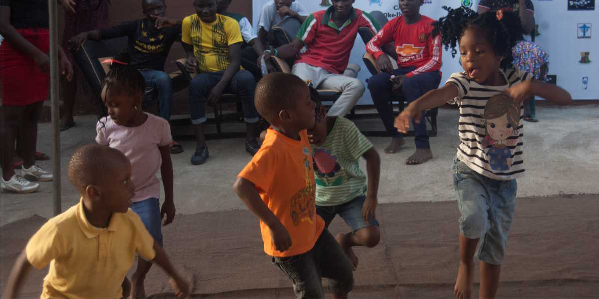 living word mission children dancing