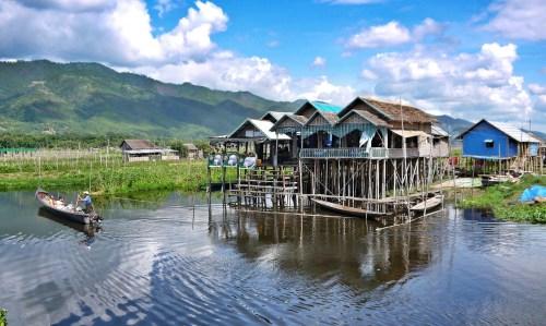 Floating Village, Inle Lake, Myanmar