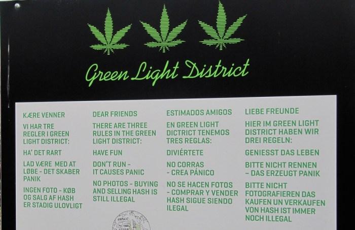 Green Light District, Christiania, Copenhagen
