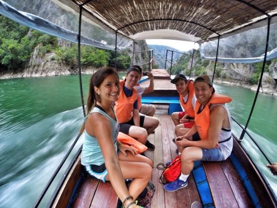 Matka Canyon boat tour, Skopje, Macedonia